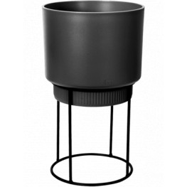 B.For Studio Round Living Black 22x38 cm