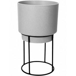 B.For Studio Round Living Concrete 22x38 cm