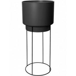 B.For Studio Round Living Black 30x69 cm