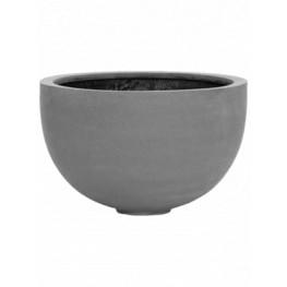 Fiberstone Bowl grey 45x28 cm