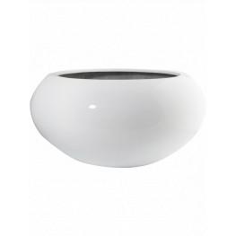Fiberstone Glossy white cora S 47x26 cm