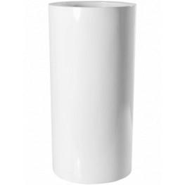 Fiberstone Klax glossy white 40x80 cm