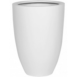 Fiberstone Matt white Ben XL 52x72 cm