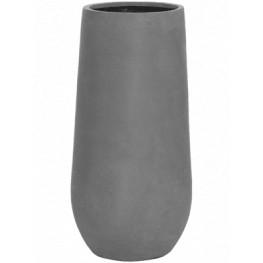 Kvetináč Fiberstone Nax M grey 34x70 cm