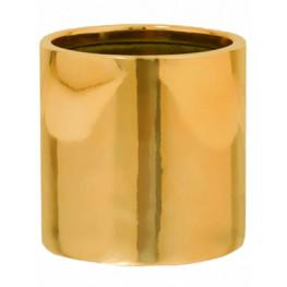 Fiberstone Platinum glossy gold puk S 15x15 cm