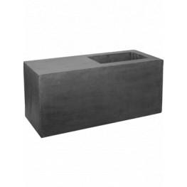 Fiberstone Jort seating grey S 100x40x45 cm
