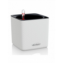 Lechuza Cube Color (Trend) All-in-One set white 14x14x14cm