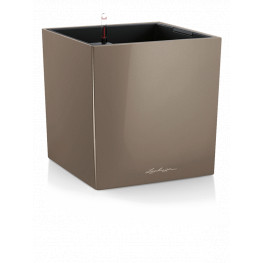 Lechuza Cube Premium All-in-One set taupe 40x40x40
