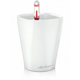 Lechuza Deltini mini white high-gloss 10x13 cm