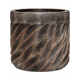 Luxe Lite Universe Wave cylinder bronze 40x38 cm