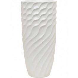Luxe Lite Glossy Breaker white 37x81 cm