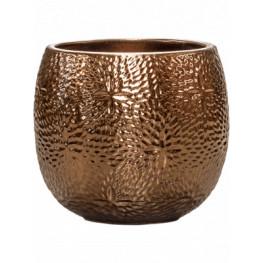 Kvetináč Marly Pot Gold zlatý 30x28 cm