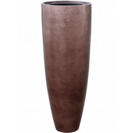 Metallic Silver leaf Partner matt coffee (+ vnutro) 34x90 cm