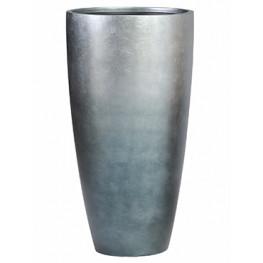 Metallic Silver leaf Partner matt blue grey (+ vnutro) 40x75 cm