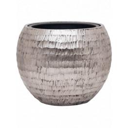 Opus hammered globe silver (s vnutrom) 40x32 cm