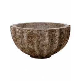 Polystone Rock Bowl 60x30 cm