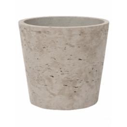 Rough Bucket XS grey washed 13x11 cm