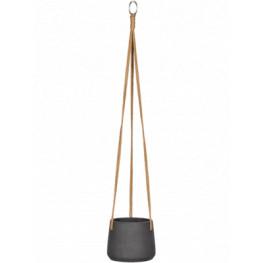 Rough Patt (hanging - visiaci) S black washed 14x11 cm