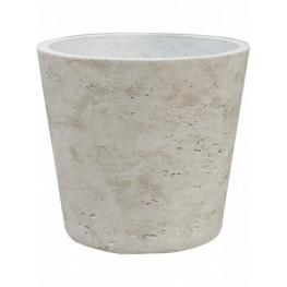 Rough Bucket M grey washed 16x15 cm