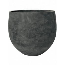 Rough Orb XL black washed 39x35 cm