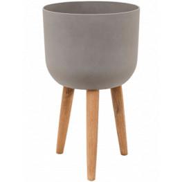 Refined Retro with feet Logan clouded grey 36x63 cm