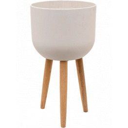 Refined Retro with feet Logan natural white 40x74 cm
