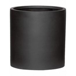 Kvetináč Refined Max S volcano black 29x30 cm