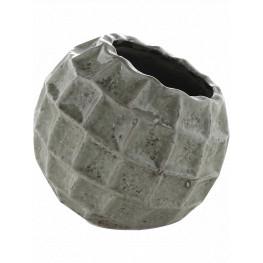 Indoor Pottery Pot Square Design Mini 17x16 cm