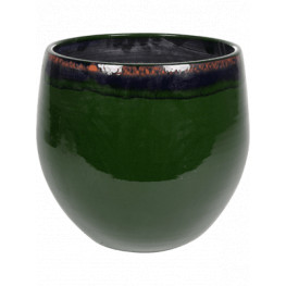Indoor Pottery Pot Charlotte Green 29x26 cm