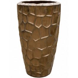 Plain Sepia partner relief 43x75 cm