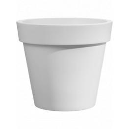 Rotazionale Easy Round Pot White 25x22 cm