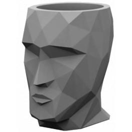 Adan Basic grey 17x13x18 cm