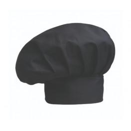 Vysoká kuchárska čiapka - čierna