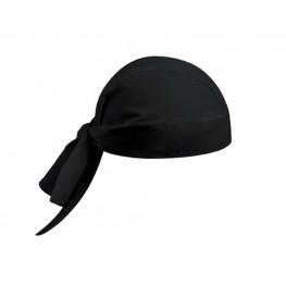 Kuchárska šatka na hlavu - čierna