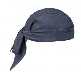 Kuchařská šátek na hlavu - JEANS