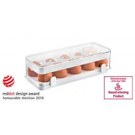 Tescoma zdravá dóza do chladničky PURITY, 10 vajec