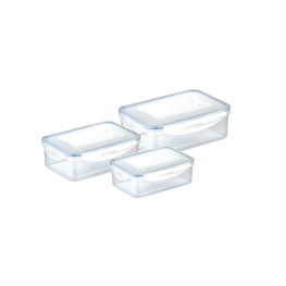 Tescoma dóza FRESHBOX 3ks, 1.0,1.5,2.5 l, obdĺžníkova