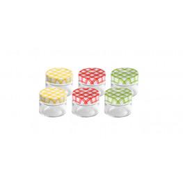 Tescoma zaváracie poháre DELLA CASA 125 ml, 6 ks