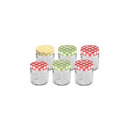 Tescoma zaváracie poháre DELLA CASA 200 ml, 6 ks