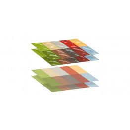 Tescoma samolepiace štítky 4FOOD, 4 hárky - SK
