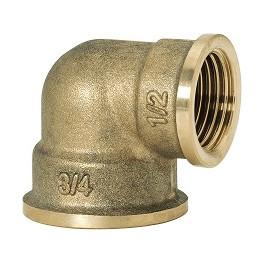 """GEBO Gold - Ms Koleno redukované 90° F/F 1/2""""x3/8"""", G90-19BR"""