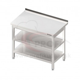 Pracovný stôl s dvoma policami 1100x700x850mm