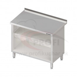 Pracovný stôl krytovaný - otvorene 1300x600x850mm