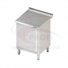 Pracovný stôl krytovaný - otvorene 1500x700x850mm