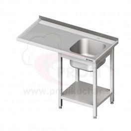 Umývací stôl s priestorom pre podstolovú umývačku – LAVÝ 1800mm