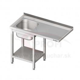 Umývací stôl s priestorom pre podstolovú umývačku – PRAVÝ 1800mm
