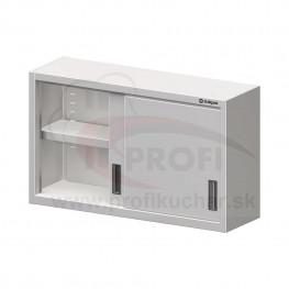 Nástenná skrinka - posuvné dvere 1300x400mm