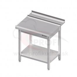 Výstupný stôl k priebežnej umývačke STALGAST – PRAVÝ 1100mm