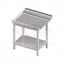 Výstupný stôl k priebežnej umývačke STALGAST – LAVÝ 800mm