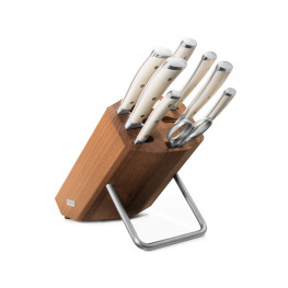 Wüsthof CLASSIC IKON créme Blok s nožmi - 8 dielov 9879